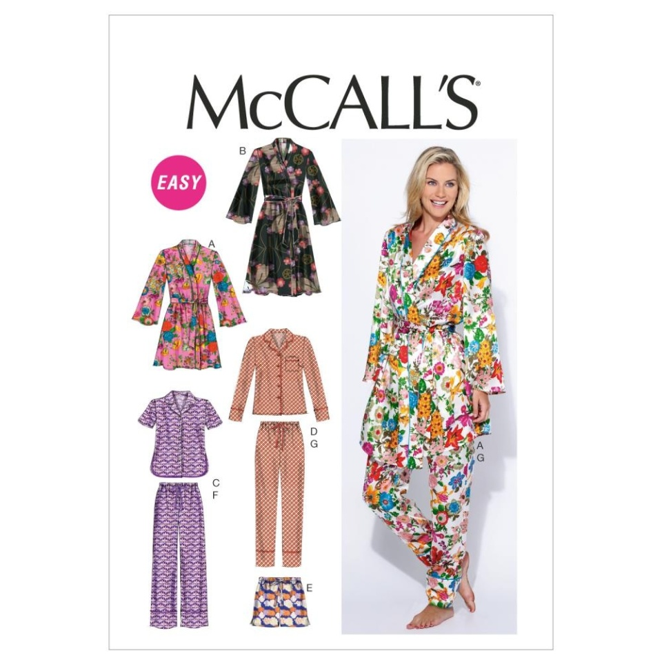 almondrock mccalls 6659 pyjamas